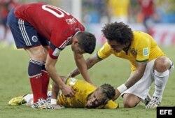 La fractura de Neymar...