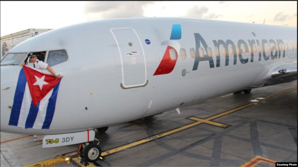 Hasta American Airlines ha reajustado sus vuelos regulares a Cuba.