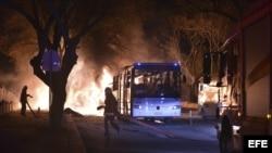 Explosión en Ankara.