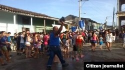 Reporta Cuba Simulacro de Parrandas foto Niurcys Acosta