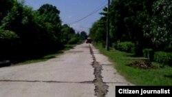 Reporta Cuba Camino a Las Novillas Manzanillo Foto Rudisel Batista