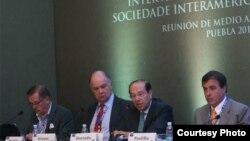 Comisión de Libertad de Prensa, SIP, en Puebla, México