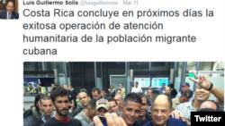 El 11 de marzo comenzó el cierre de la operación liderada por Costa Rica para poner fin a la crisis migratoria cubana.