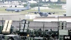 Sistema de misiles listo para interceptar cualquier violación enemiga