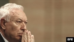 El ministro de Asuntos Exteriores José Manuel García-Margallo. Archivo.