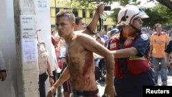 Motín en las cárceles de Venezuela.