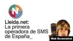 Un anuncio de LLeida.net.