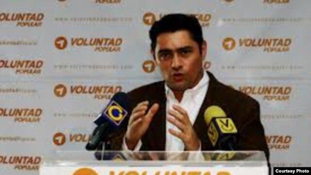 Carlos Vecchio, dirigente de Voluntad Popular