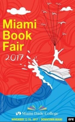 Cartel de Feria del Libro de Miami 2017.