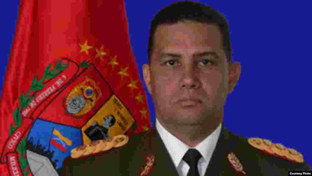 Gustavo Enrique González López, director general del Servicio Bolivariano de Inteligencia; ahora ministro del Interior.