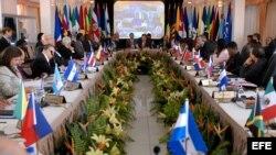 Reunión de Asociación de Estados del Caribe. Archivo.