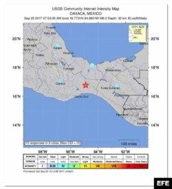 Nuevo sismo en México.