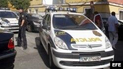 Fotografía de archivo. Agentes de la policía de Sevilla.