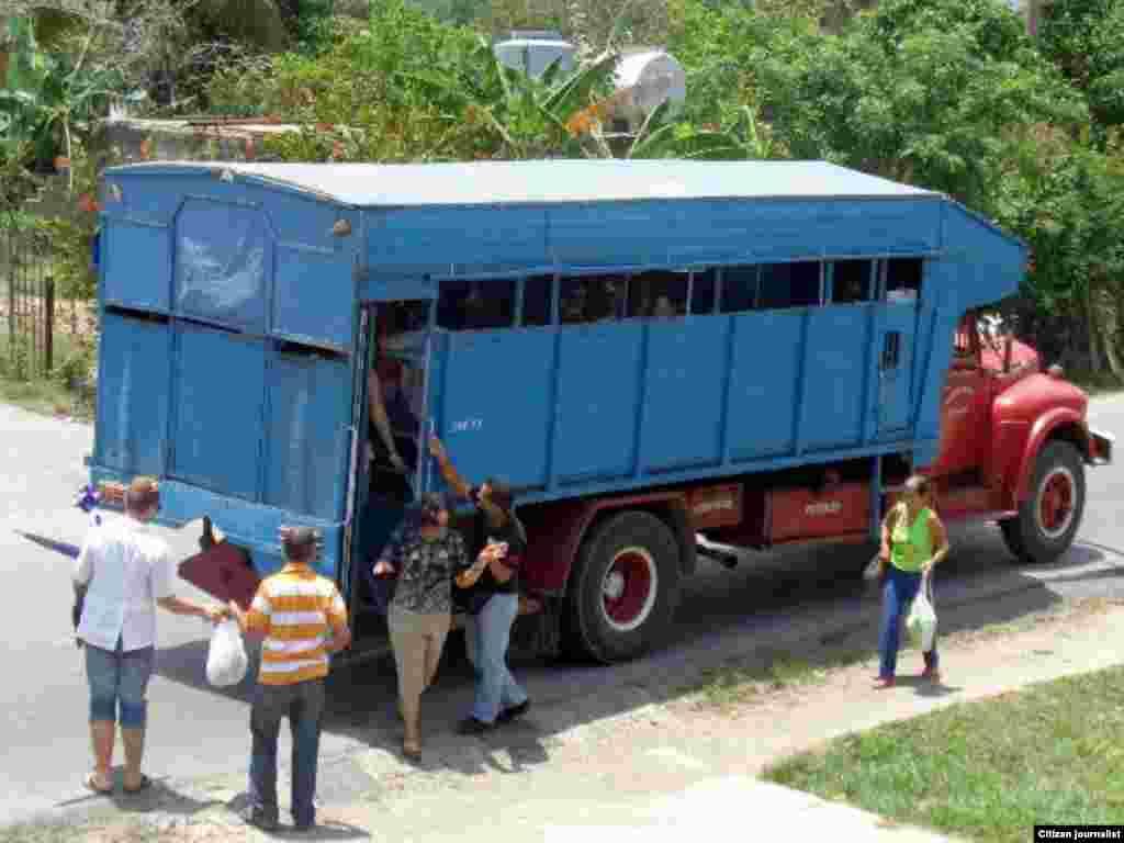 Transporte Reporta Cuba