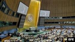 Asamblea General de la ONU, Nueva York.