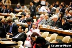 Votación sobre Derechos Humanos de la ONU. Foto: UN Human Rights.