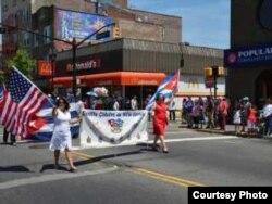 Desfile Cubano en Bergenline, New Jersey