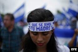 Opositores reafirman que la lucha una Nicaragua pacífica y libre debe continuar en la calle.