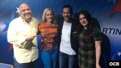 1800 Online con los actores cubanos Belkis Proenza y Carlos Montiel