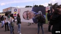 FARC presentó su candidatura como alternativa pero no ha atraído el interés ciudadano.