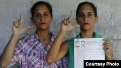 Acoso y detención de cuentapropistas en Holguín; se solidarizan con dos gemelas huelguistas