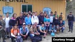 Detenidos 27 cubanos en Honduras.
