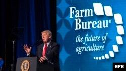 El presidente Donald J. Trump habla en convención de agricultores