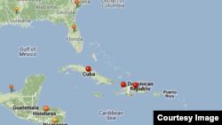 Situación del cólera en el Caribe