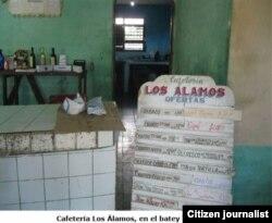 Reporta Cuba. Cafetería en Los Arabos. Foto: Daniel Domínguez.
