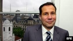El fallecido fiscal argentino Alberto Nisman, que denunció a la presidenta, Cristina Fernández, por presunto encubrimiento de Irán en un atentado contra la mutual judía AMIA, y que fue hallado mu