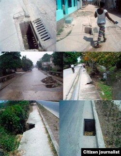 Reporta Cuba. Huecos en las calles. Foto: Mailin Góngora.