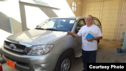 La entidad caritativa ACN subvencionó la compra de esta camioneta para la parroquia de Songo-La Maya