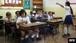 La escuela.