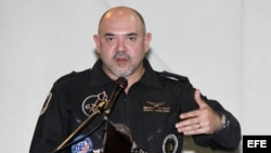 Foto de archivo del primer astronauta ecuatoriano y miembro de la Agencia Espacial Civil Ecuatoriana (EXA), Ronnie Náder.