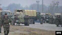 Ucrania, miliatres vehículos