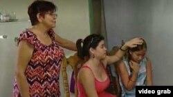 Familiares de Herminio Otero. Video de ABC Action News