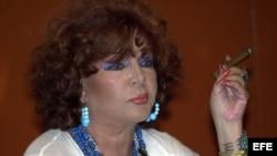 Fotografía de archivo de la actriz y cantante Sara Montiel, que ha fallecido a los 85 años de edad.