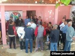 Reporta Cuba. Activistas se reúnen en Pinar del Río. Foto: Yelky Puig.