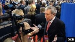El ex secretario de Comercio de EEUU Carlos Gutiérrez preside el Consejo de Negocios Estados Unidos-Cuba.