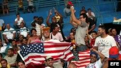 Está previsto que Obama asista el martes al juego de pelota en el Latinoamericano. Foto tomada 5 de julio de 2012, en el estadio Latinoamericano.
