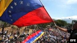 Protestas contra el gobierno en el estado de Táchira. Sábado 22 de febrero