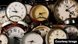 Reflejos de las horas.