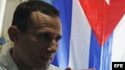 El coordinador de la Unión Patriótica de Cuba, José Daniel Ferrer.