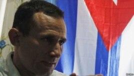 El exprisionero político cubano, José Daniel Ferrer