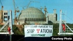 Planta nuclear argentina.