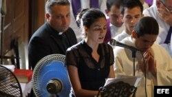 La hija del opositor cubano Oswaldo Payá, Rosa Maria Payá