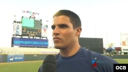 Héctor Mendoza, lanzador del equipo Vegueros de Pinar del Río.