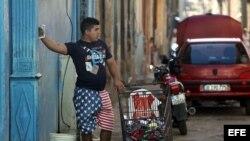 Cubanos viven el segundo año del deshielo con Estados Unidos. EFE