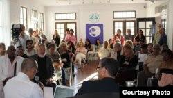 Público y participantes en el Festival Vista, de Miami, Julio 2016. Foto: Armando Añel.