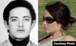 El terrorista chileno Juan Gutiérrez Fischmann y su hija Gabriela, nieta de Raúl Castro (foto Cuba al Descubierto)